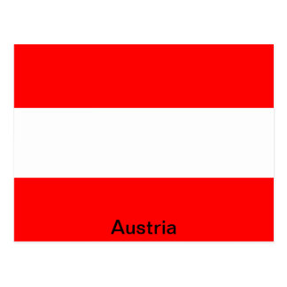 Bandera de Austria Tarjetas Postales