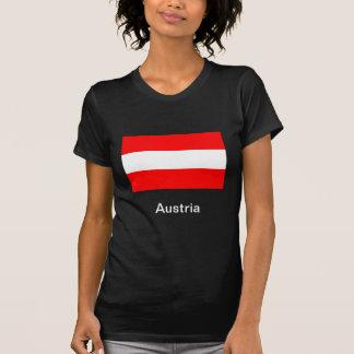 Bandera de Austria Tee Shirts