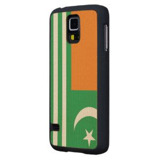 Bandera de Azadkashmir Funda De Galaxy S5 Slim Arce