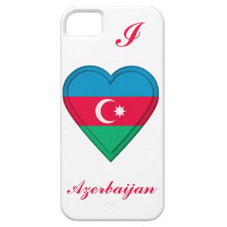 Bandera de Azerbaijan Azerbaijanian iPhone 5 Case-Mate Carcasa