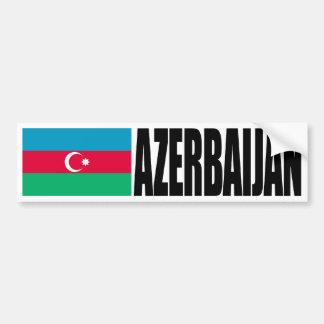 Bandera de Azerbaijan Pegatina Para Auto