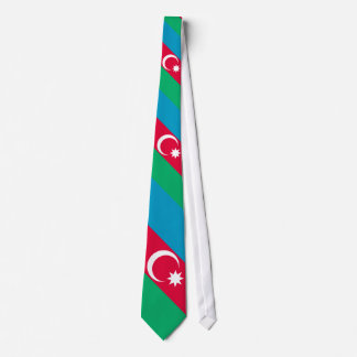 Bandera de Azerbaijan Corbata