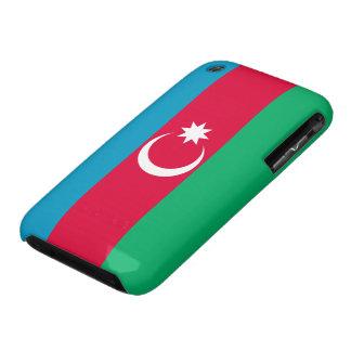 Bandera de Azerbaijan iPhone 3 Case-Mate Cárcasa