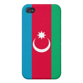 Bandera de Azerbaijan iPhone 4 Protector