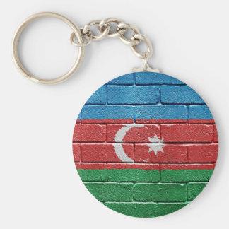 Bandera de Azerbaijan Llaveros Personalizados