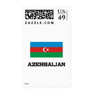 Bandera de Azerbaijan Franqueo