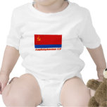 Bandera de Azerbaijan SSR con nombre Trajes De Bebé