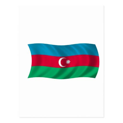 Bandera de Azerbaijan Tarjetas Postales