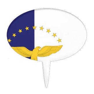 Bandera de Azores Decoración Para Tarta