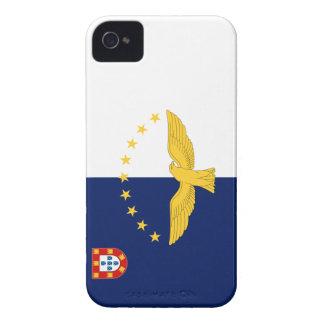 Bandera de Azores iPhone 4 Carcasas