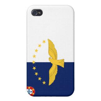 Bandera de Azores iPhone 4 Cárcasas