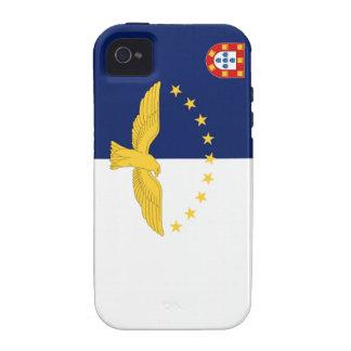 Bandera de Azores Portugal iPhone 4 Carcasa