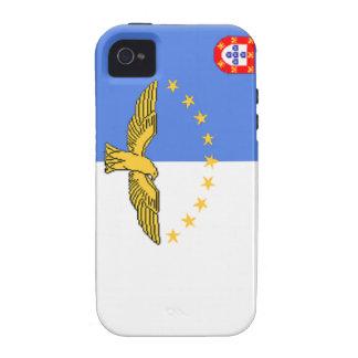 Bandera de Azores Portugal Vibe iPhone 4 Funda
