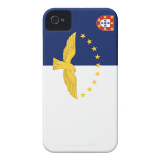 Bandera de Azores Portugal iPhone 4 Protector