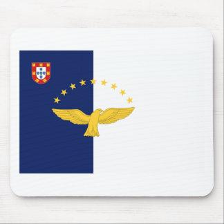 Bandera de Azores (Portugal) Alfombrilla De Ratones