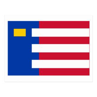 Bandera de Baarle-Nassau Tarjetas Postales