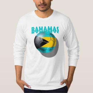 Bandera de Bahamas - bandera del Caribe bahamesa Remeras