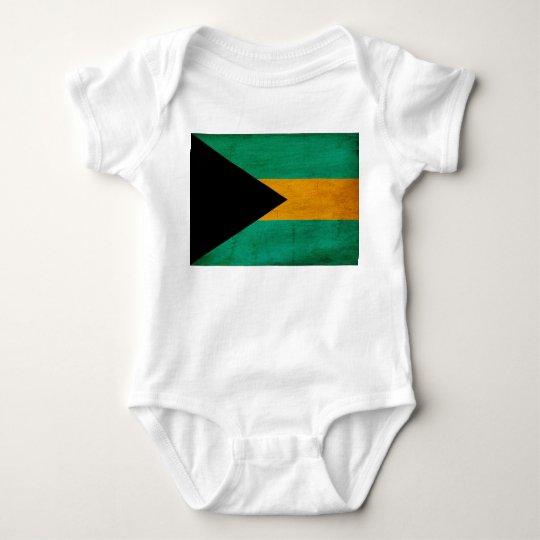 Bandera de Bahamas Body Para Bebé
