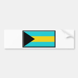 Bandera de Bahamas Pegatina Para Coche