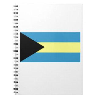 Bandera de Bahamas Libro De Apuntes