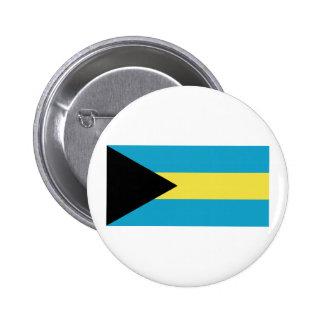 Bandera de Bahamas Pin Redondo De 2 Pulgadas