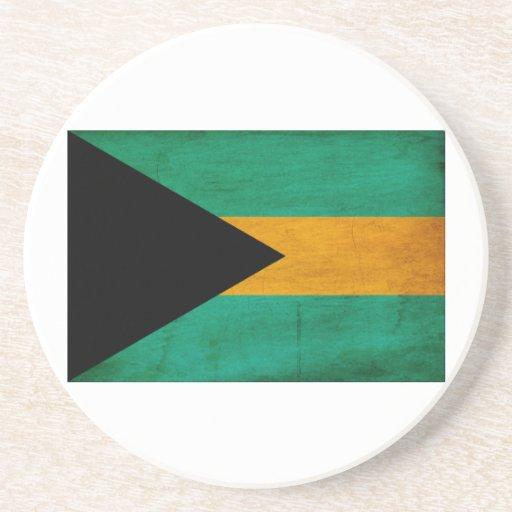 Bandera de Bahamas Posavasos Cerveza