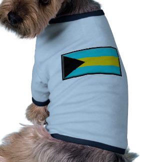 Bandera de Bahamas Ropa Para Mascota