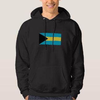 Bandera de Bahamas Sudaderas Con Capucha