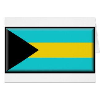 Bandera de Bahamas Tarjetas