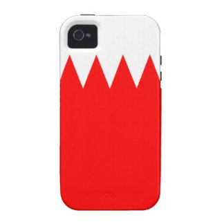 Bandera de Bahrein Vibe iPhone 4 Carcasas