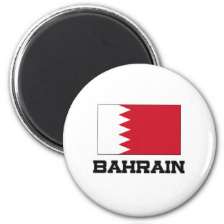 Bandera de Bahrein Imán Redondo 5 Cm