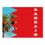 Bandera de Bahrein Tarjetas Postales