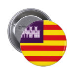 Bandera de Balearic Island (España) Pins