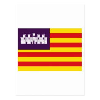 Bandera de Balearic Island Postales