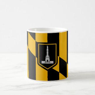 Bandera de Baltimore Taza Clásica