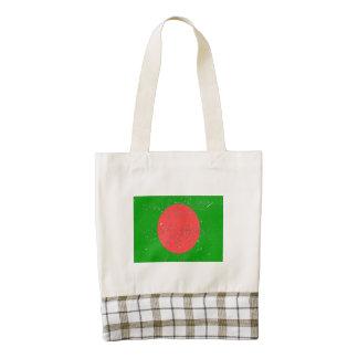 Bandera de Bangladesh (apenada)