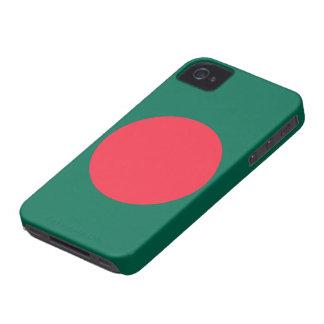 Bandera de Bangladesh Case-Mate iPhone 4 Cárcasas