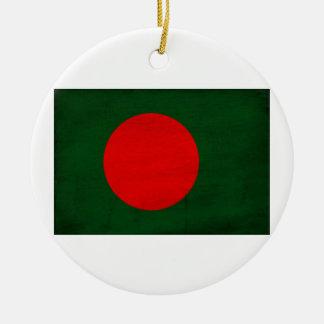 Bandera de Bangladesh Ornamento Para Reyes Magos