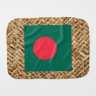 Bandera de Bangladesh en la materia textil Paños De Bebé