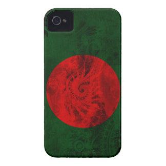 Bandera de Bangladesh Case-Mate iPhone 4 Fundas