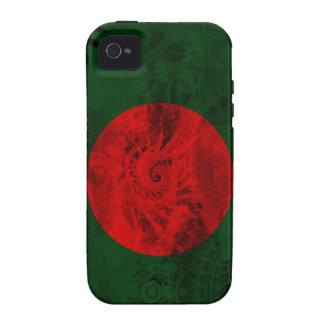 Bandera de Bangladesh iPhone 4 Carcasas