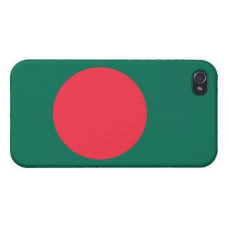 Bandera de Bangladesh iPhone 4/4S Carcasas
