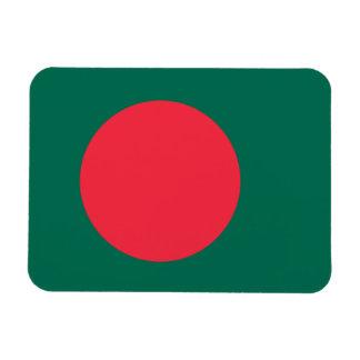 Bandera de Bangladesh Imán Rectangular