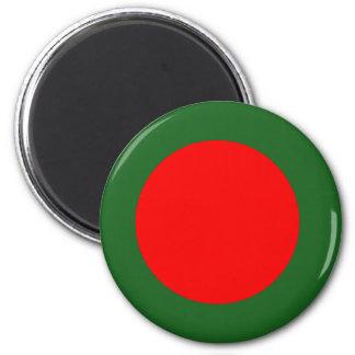 Bandera de Bangladesh Imán Redondo 5 Cm