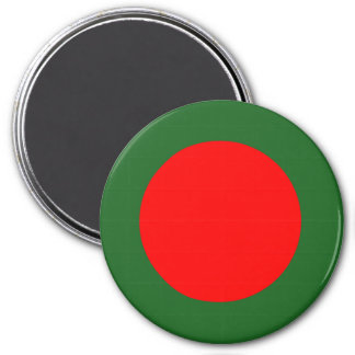 Bandera de Bangladesh Imán Redondo 7 Cm