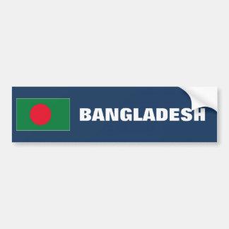 Bandera de Bangladesh Pegatina Para Auto