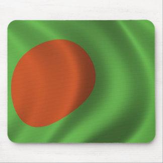 Bandera de Bangladesh Tapetes De Ratón