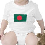 Bandera de Bangladesh Traje De Bebé