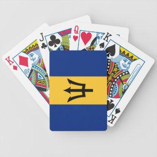 Bandera de Barbados Barajas De Cartas
