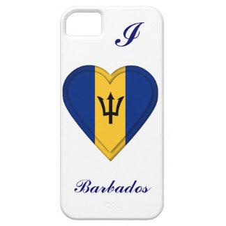 Bandera de Barbados iPhone 5 Cobertura